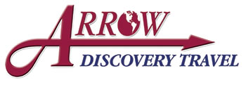 Arrow Discovery Travel Logo