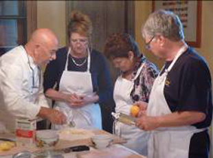 Cooking class at the country house