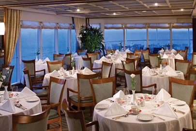 Cruise Ship Fine Dining Room