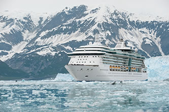 Cruise Ship in Winter