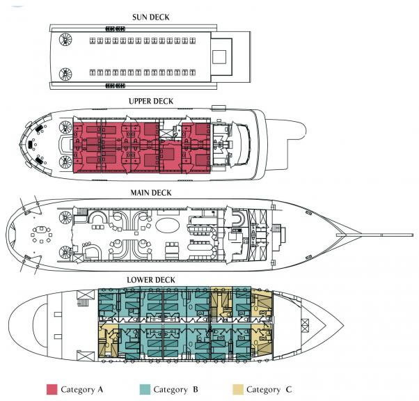 Deck Plan for Galileo Rollover Image